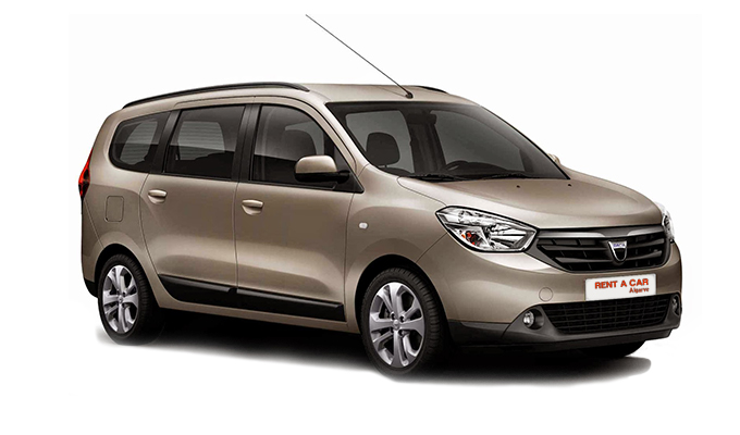 Rent a Car Algarve - Aluguer de Carros - Dacia Lodgy