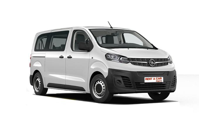 Rent a Car Algarve - Aluguer de Carros - Opel Vivaro