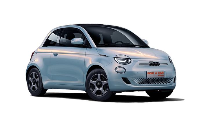 Rent A Car Algarve - Autovermietungen - Fiat 500-cabrio