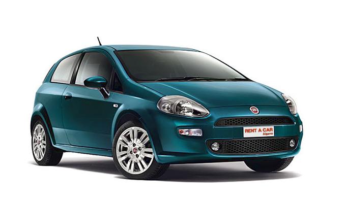 Rent A Car Algarve - Autovermietungen - Fiat Punto