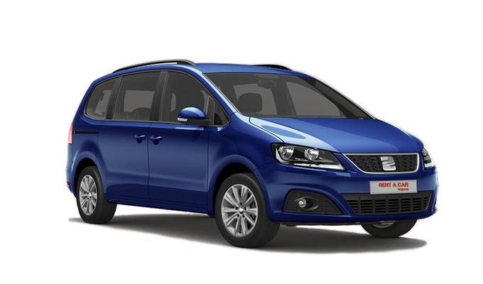 Rent A Car Algarve - Autovermietungen - Seat Alhambra