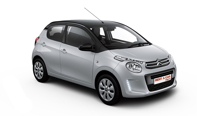 Rent A Car Algarve - Huur een auto - Citroen C1 Cabrio