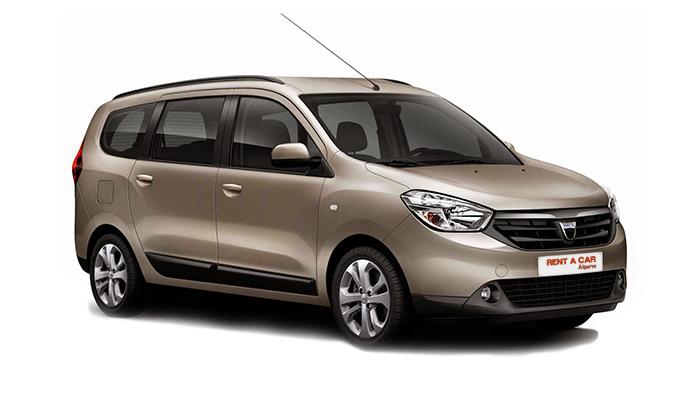 Rent A Car Algarve - Huur een auto - Dacia Lodgy