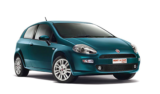 Rent A Car Algarve - Huur een auto - Fiat Punto