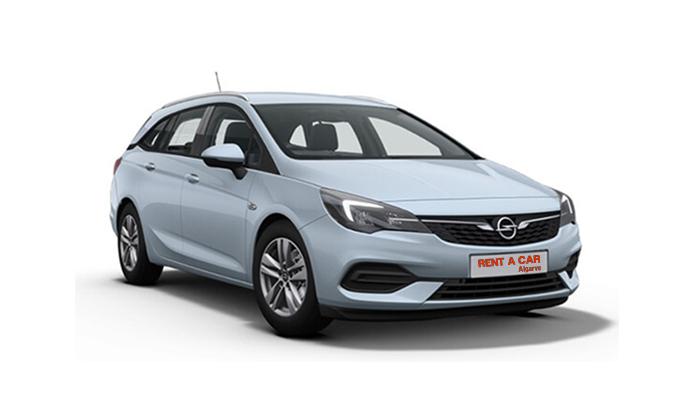 Rent A Car Algarve - Huur een auto - Opel Astra Wagon