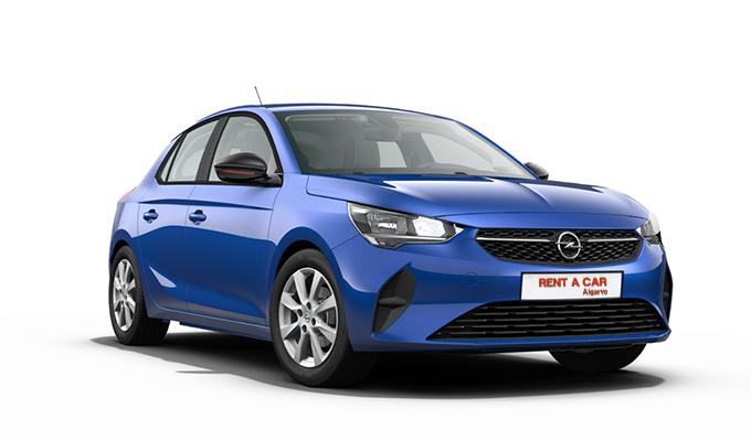 Rent A Car Algarve - Huur een auto - Opel Corsa
