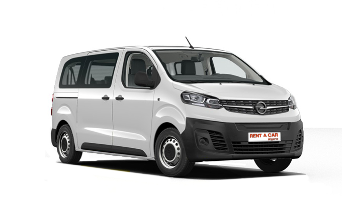 Rent a Car Algarve - Opel Vivaro