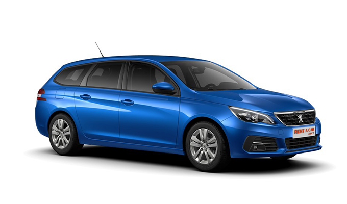 Rent a Car Algarve - Peugeot 308 Wagon